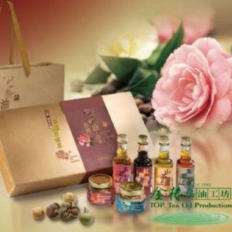 客家茶油禮盒*幸福好滋味(台灣 油‧山茶)(4款油品)