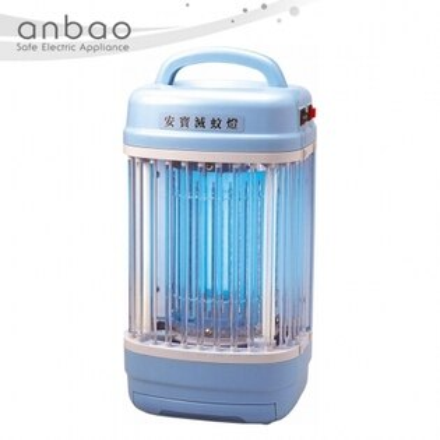 快樂老爹:《買就送蚊拍二選一》【安寶ANBAO】8W捕蚊燈(8坪)AB-9208