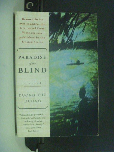 【書寶二手書T7/原文小說_GJS】Paradise of the Blind_Dng, Thu Hng
