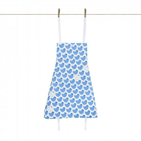 《法國LaCocotteParis》廚房的美好時光-孩童圍裙Minipoussinbleu