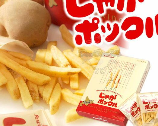 Calbee薯條三兄弟日本加樂比北海道限定版18g*10小包★802226