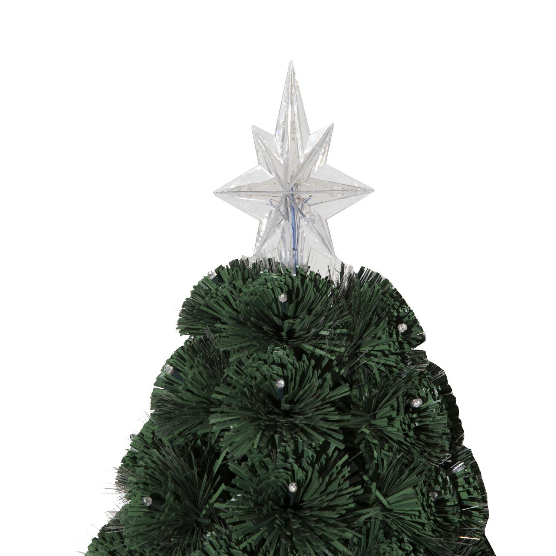 HomCom 4' Artificial Holiday Decoration Light Up Christmas Tree - Green 4