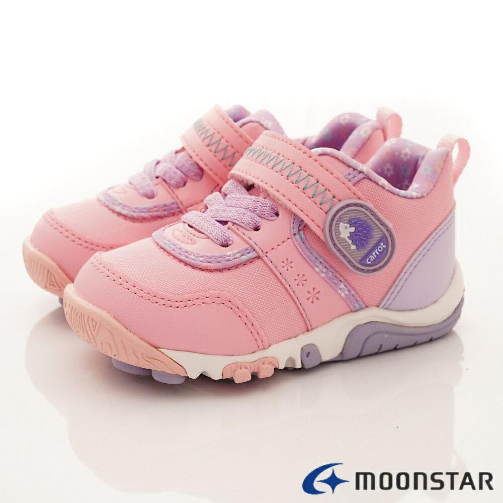 日本Moonstar月星機能童鞋2E穩定款-CRC22754粉(中小童段) 0