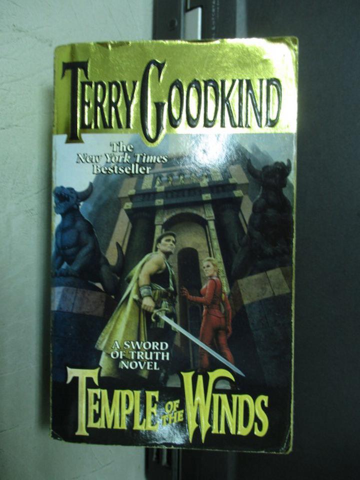 【書寶二手書T2/原文小說_KRA】Temple of the Winds_Terry Goodkind