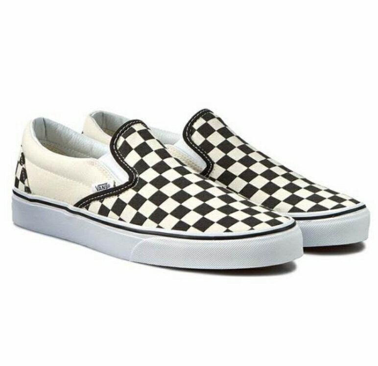 【VANS】Classic Slip-On 棋盤格懶人鞋 平底鞋 懶人鞋 VN000EYEBWW (palace store) 1