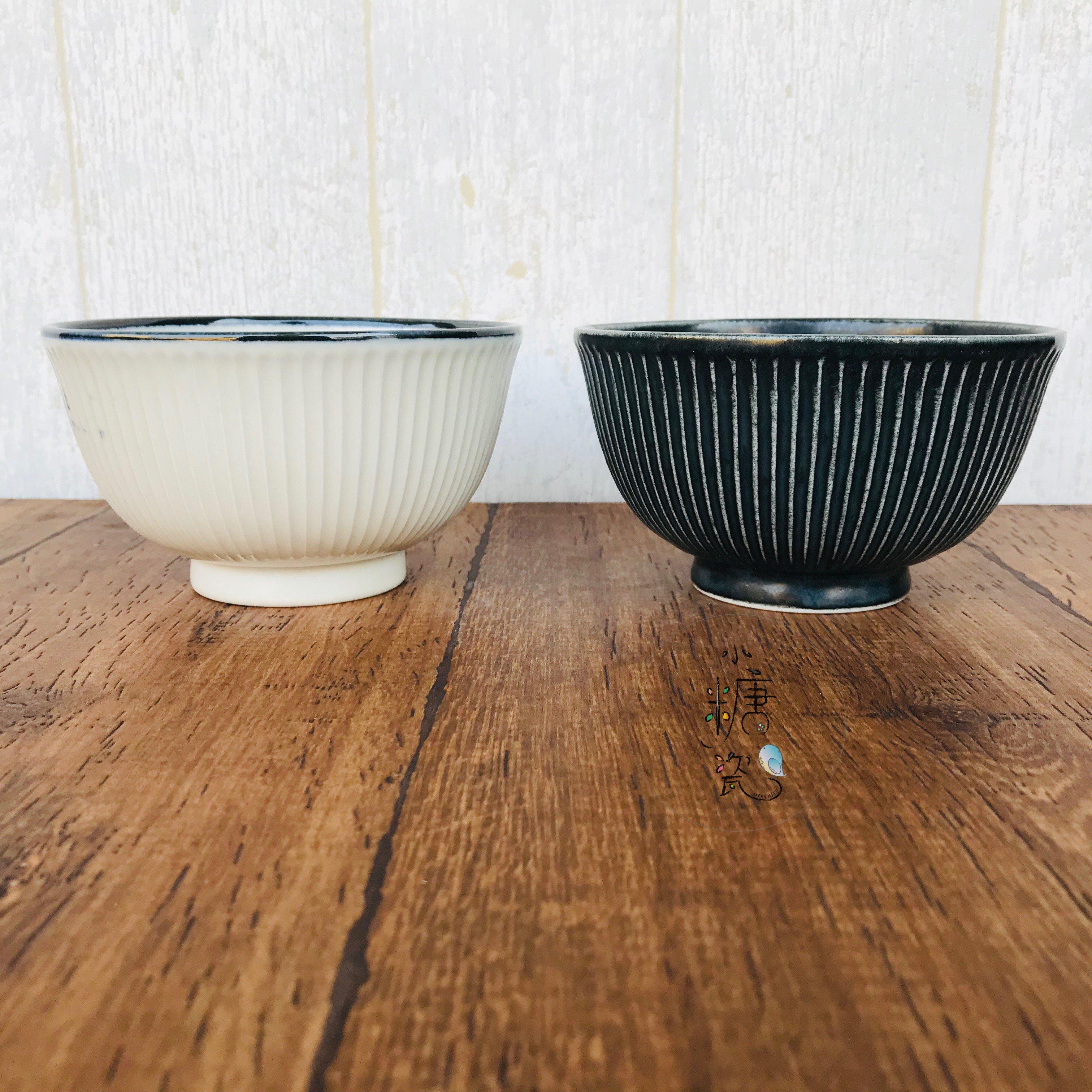 小糖瓷⎥ 製 [大] 日式輕量百摺復刻飯碗 迷你丼飯碗(兩色)