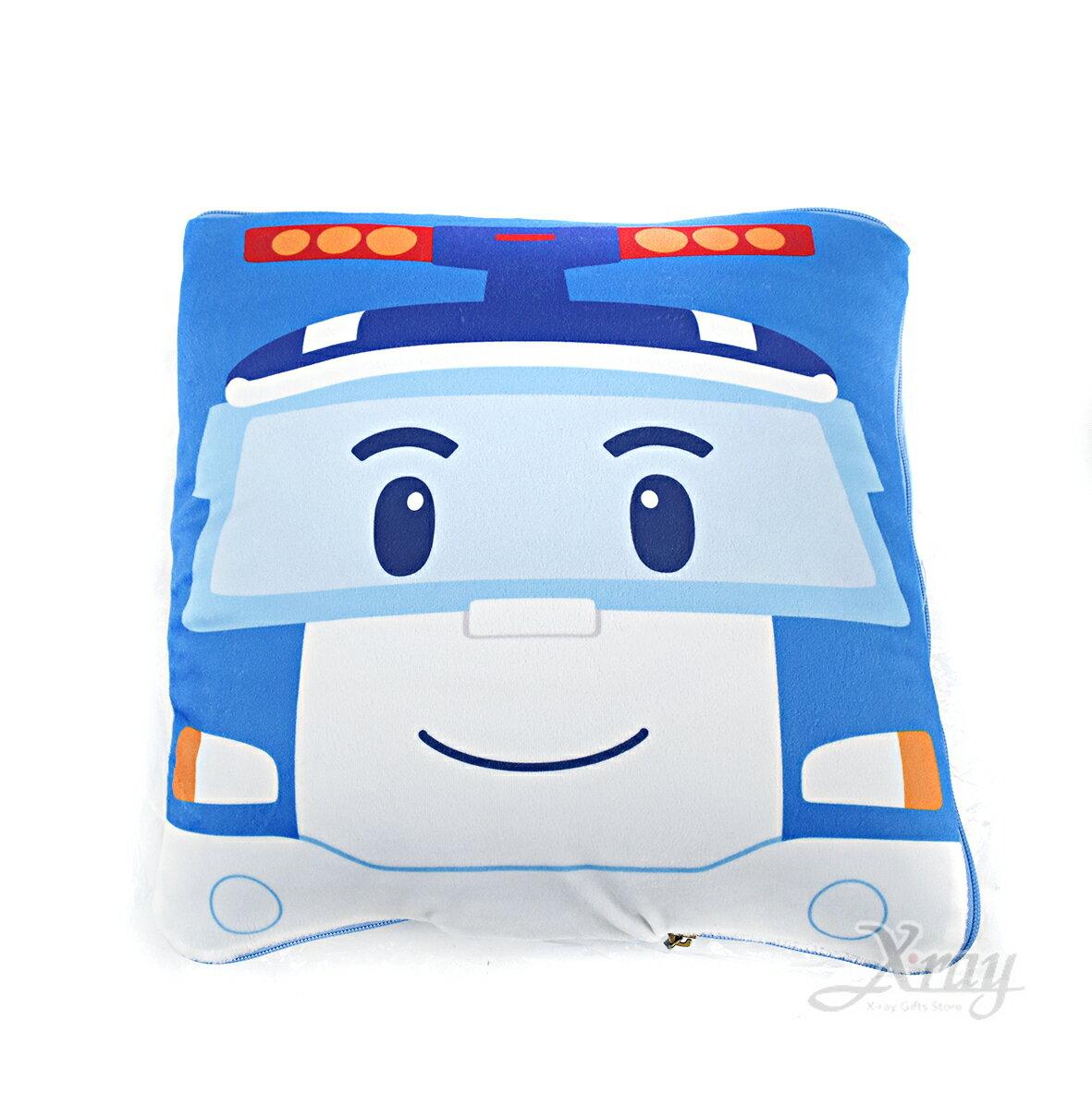 X射線【C870003】波力涼被抱枕,可當棉被又可收納成抱枕/枕頭/抱枕/靠墊/午睡枕