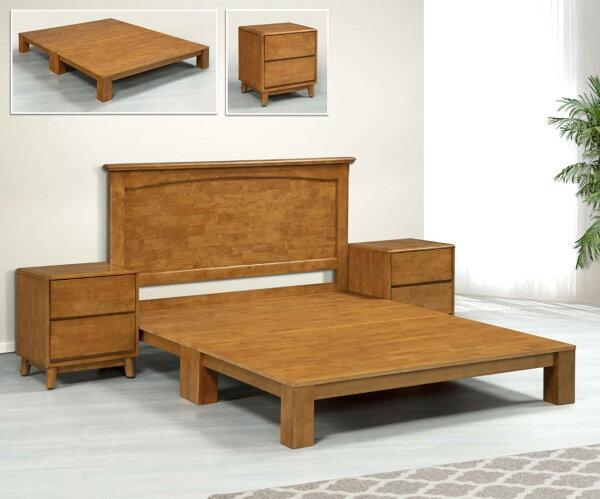 【尚品傢俱】KM-72阿斯卡橡膠木5尺床頭片(另有床頭櫃)~~另有3.5尺、6尺床頭片~~