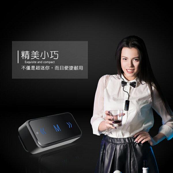 【全館折扣】充電式迷你無線電耳機式對講機一對一一對多一對無限20小時續航HANLIN607TLK1