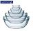 6cm~23cm樂美雅強化金剛碗 調理碗 玻璃碗 沙拉碗 強化玻璃碗 料理節目專用碗 弓箭牌 廚房餐具《維克精選》 1