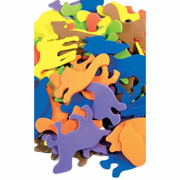 ~華森葳兒童教玩具~美育教具系列~泡棉片~動物 L1~AP  346  FA