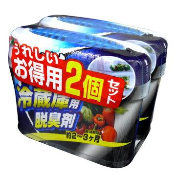 日本WELCO冰箱除臭炭2入裝(長效2~3個月)阿志小舖