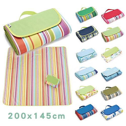 野餐墊 手提式折疊防水野餐墊 沙灘墊 【SD8050】 0