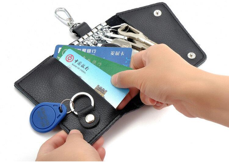 鑰匙包 信封扣卡片包掛腰車鑰匙圈包【CL503】 BOBI  12 / 01 1