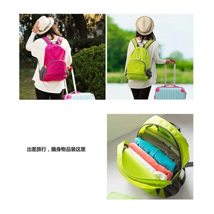 旅行袋 輕薄多功能可折疊旅行包後背包【MJ001】 BOBI  12 / 01 2