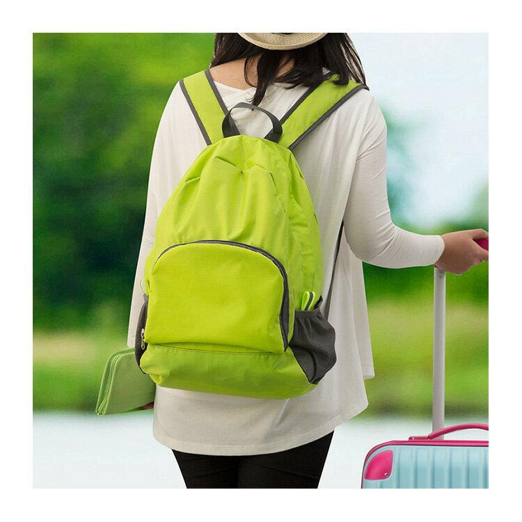 旅行袋 輕薄多功能可折疊旅行包後背包【MJ001】 BOBI  12 / 01 4