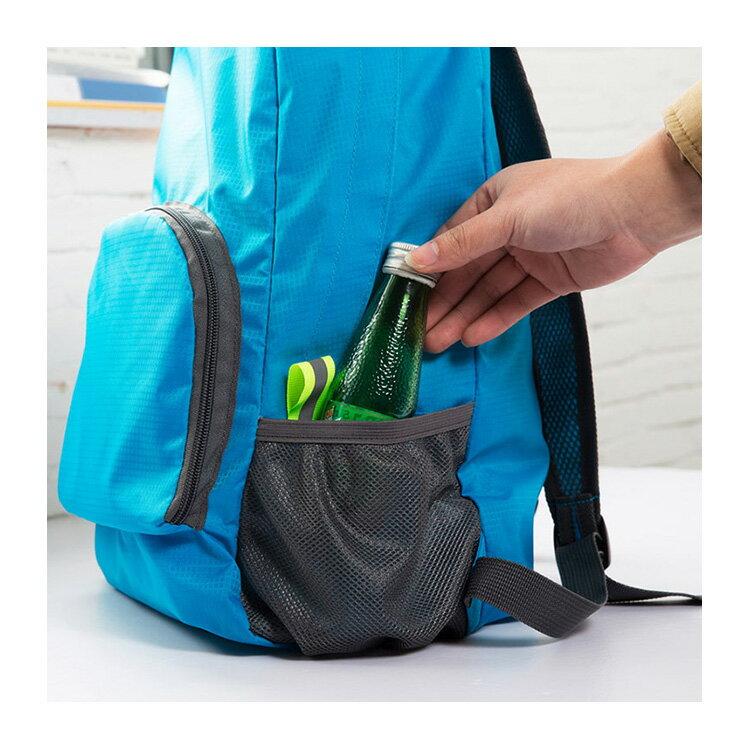 旅行袋 輕薄多功能可折疊旅行包後背包【MJ001】 BOBI  12 / 01 7