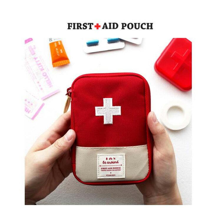 旅行袋 攜帶式急救包隨身藥品收納包【MJY001】 BOBI  12 / 01 1