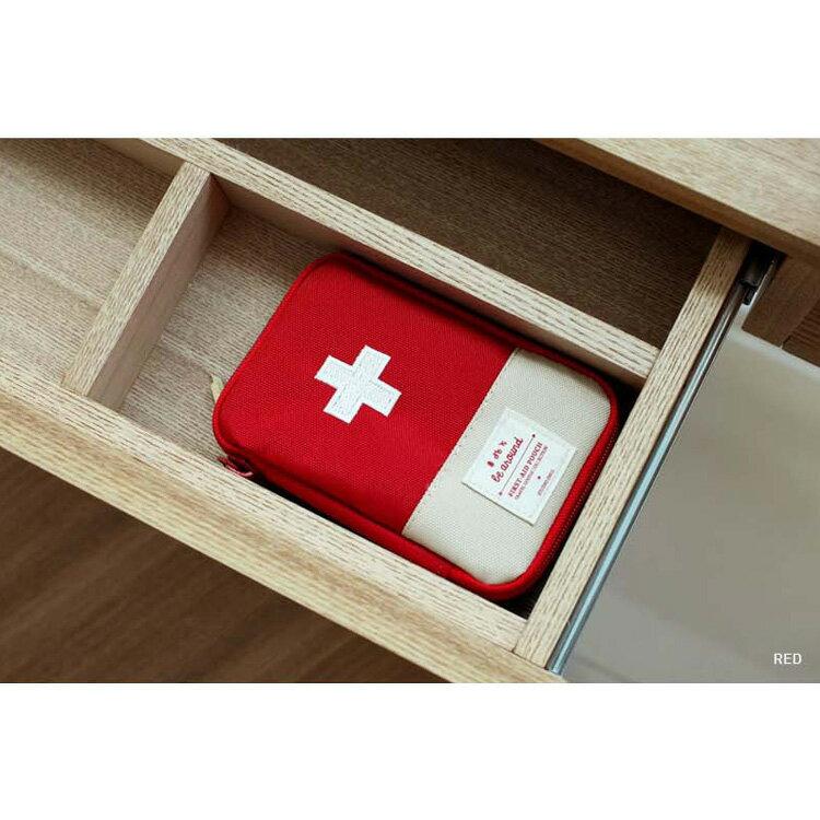 旅行袋 攜帶式急救包隨身藥品收納包【MJY001】 BOBI  12 / 01 3