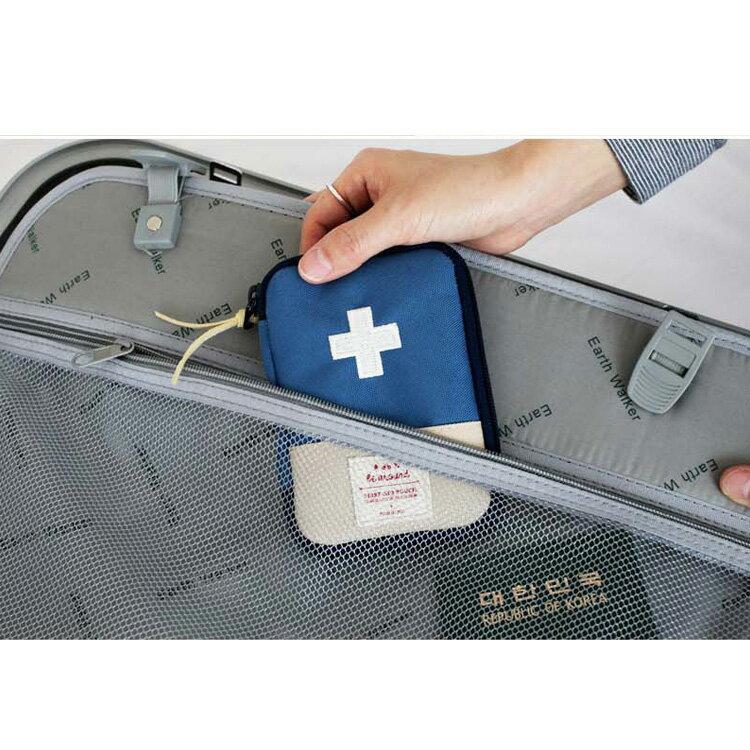 旅行袋 攜帶式急救包隨身藥品收納包【MJY001】 BOBI  12 / 01 4