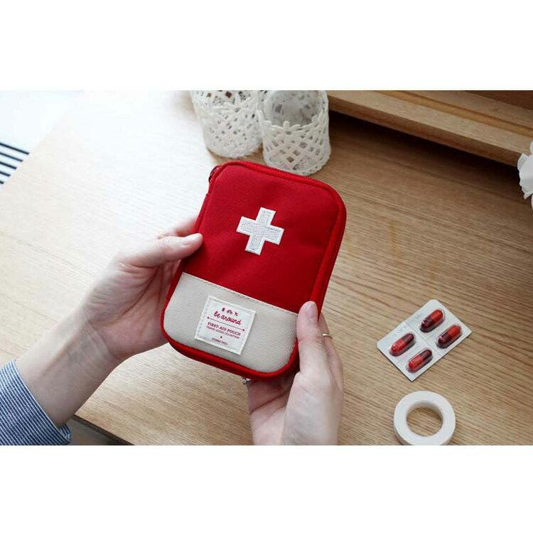 旅行袋 攜帶式急救包隨身藥品收納包【MJY001】 BOBI  12 / 01 6