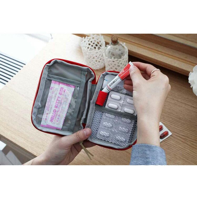 旅行袋 攜帶式急救包隨身藥品收納包【MJY001】 BOBI  12 / 01 8