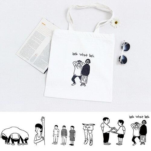 手提包 帆布包 手提袋 環保購物袋【SPGK10】 BOBI  11 / 10 0