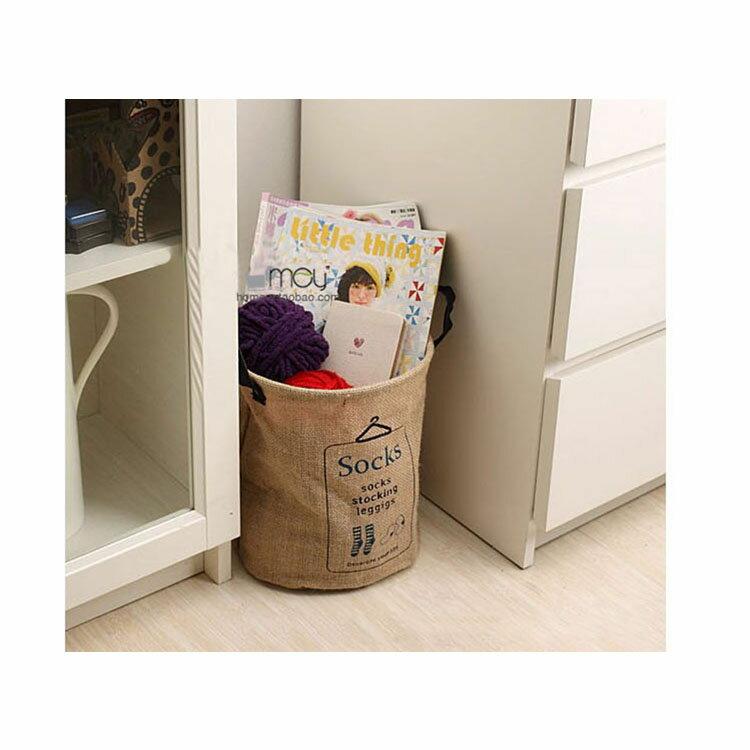 收納筒 超大收納洗衣籃 玩具雜貨收納  23*29【ZA0065】 BOBI  09 / 14 6