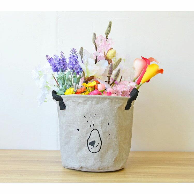 收納筒 超大收納洗衣籃 玩具雜貨收納  20*18.5【ZA0766】 BOBI  09 / 14 4
