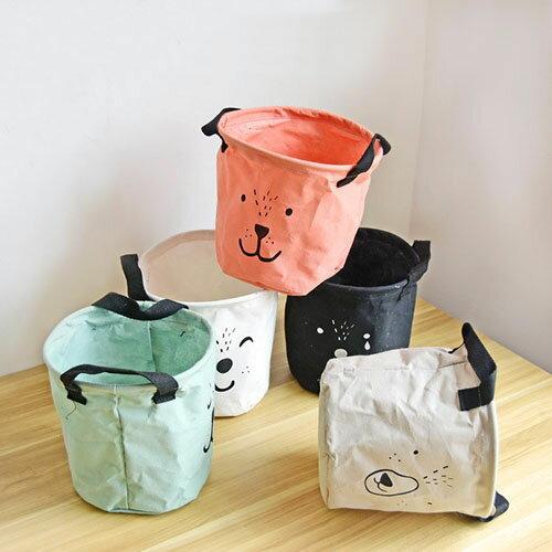 收納筒 超大收納洗衣籃 玩具雜貨收納  20*18.5【ZA0766】 BOBI  09 / 14 0