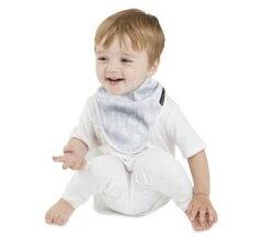 紐西蘭 MUM 2 MUM 雙面竹纖維棉機能口水巾圍兜 愛心/點點 ZMU363383 好娃娃