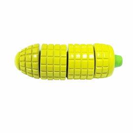 【淘氣寶寶】【台灣MULEDY木樂地】玉米家家酒切菜玩具