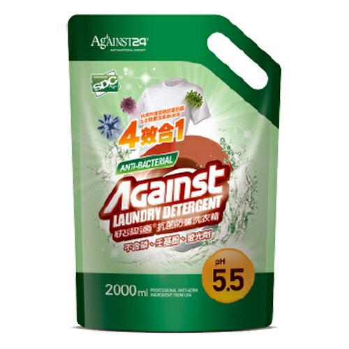 快潔適抗菌防?洗衣精補充包(2000ml)