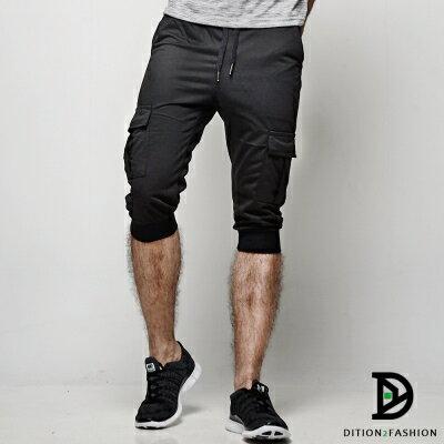 DITION 運動ORIGINAL側邊口袋抽繩棉褲 健身 2
