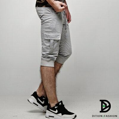 DITION 運動ORIGINAL側邊口袋抽繩棉褲 健身 3