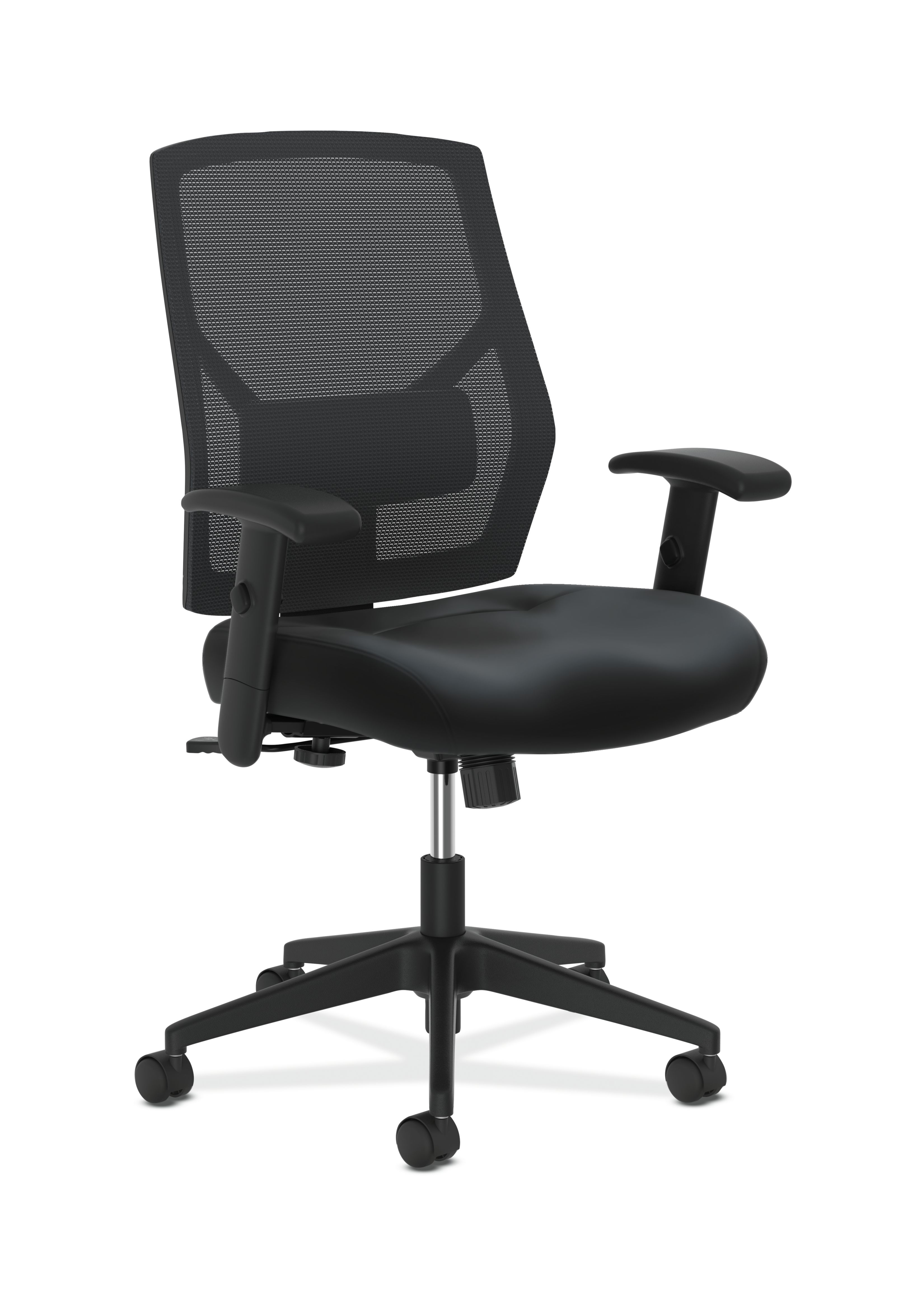 Hon crio high back task chair leather mesh back computer chair for office desk