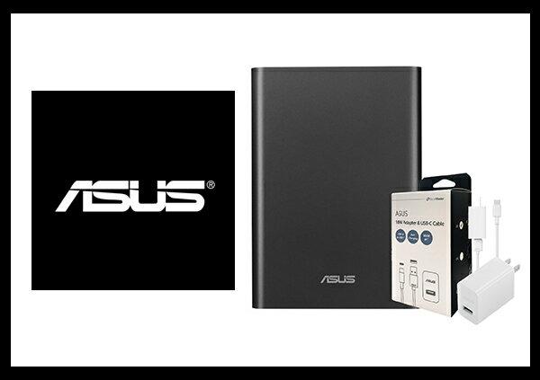 【送原廠18W充電組】ASUS ZenPower Pro PD 原廠可充筆電行動電源 - 黑色 (公司貨)