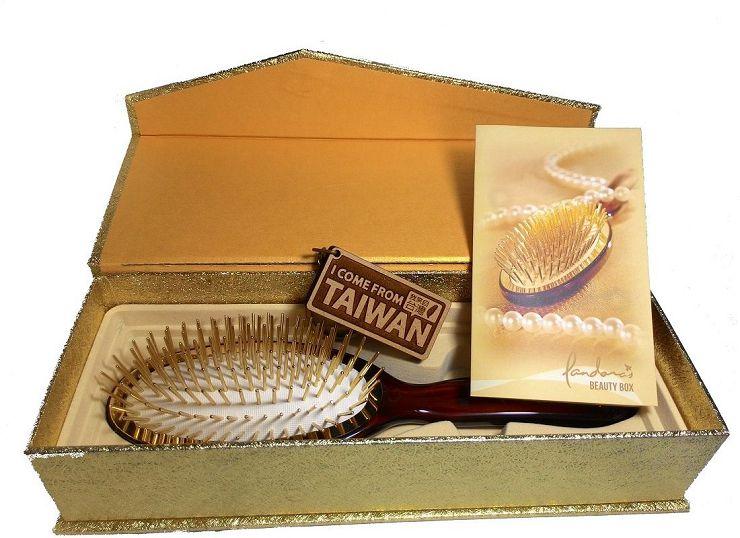 【SHOPPINESS】神奇黃金梳 第二代(大) =>女人我最大 小曼老師 潘朵拉的美妝盒 純24k金鍍金