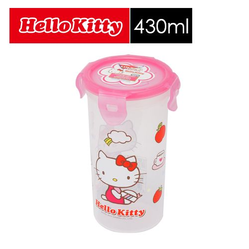 ~SHOPPINESS~樂扣樂扣 HELLO KITTY PP保鮮盒_430ml gt L