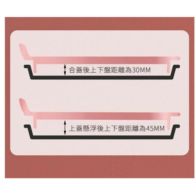 台灣現貨 110V台灣版專用電餅檔 家用懸浮式可麗餅機 雙層加大煎餅鍋 多功能食用電餅檔 電餅檔 雙面加熱無極控溫