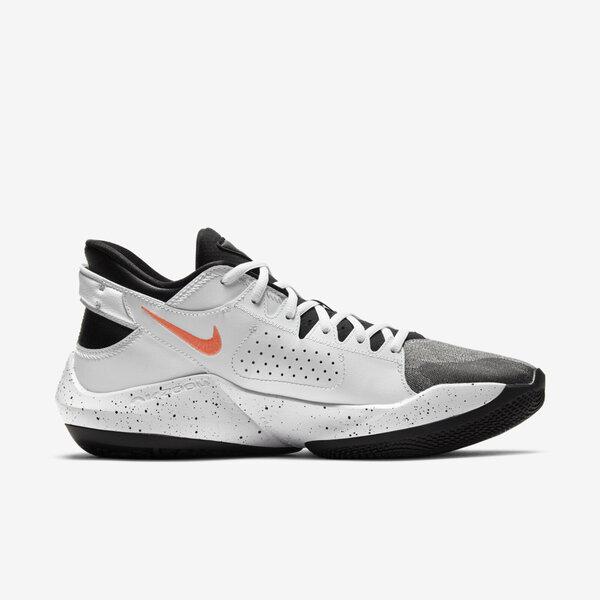 Nike Zoom Freak 2 Ep [CK5825-101] 男鞋 籃球鞋 運動休閒 保護 支撐 抓地力 白 黑