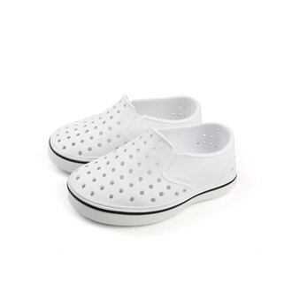 native 洞洞鞋 白色 小童 13104600-1999 no666