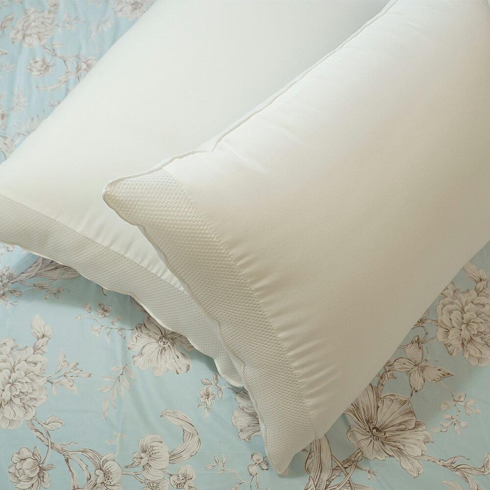 枕頭  水洗枕 可機洗/超透氣不悶熱/超Q彈/支撐性佳 台灣製 60cmX42cm 棉床本舖