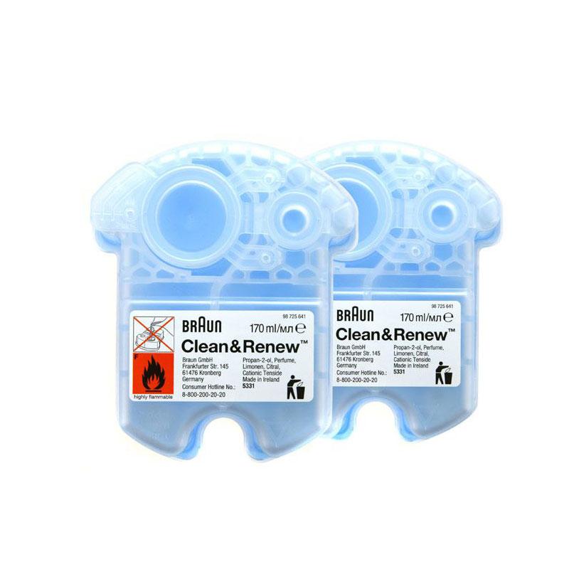 現貨供應 德國 BRAUN 百靈 CCR2 匣式清潔液(2入) CCR2 配件適用型號:790cc、760cc、590cc、390cc、350cc