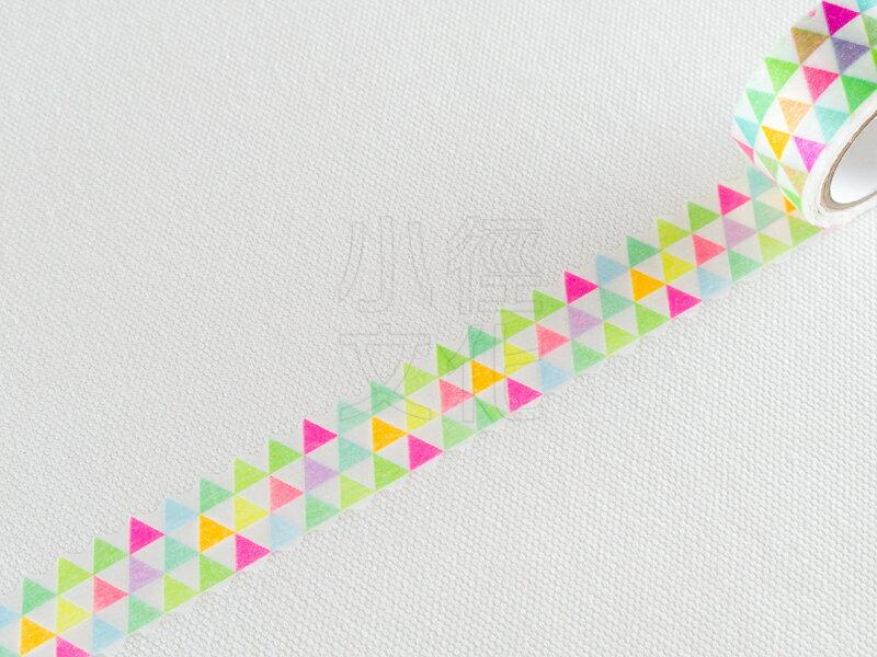 ~小徑文化~ 和紙膠帶 PINE BOOK nami.nami Aqua Neon系列 ^