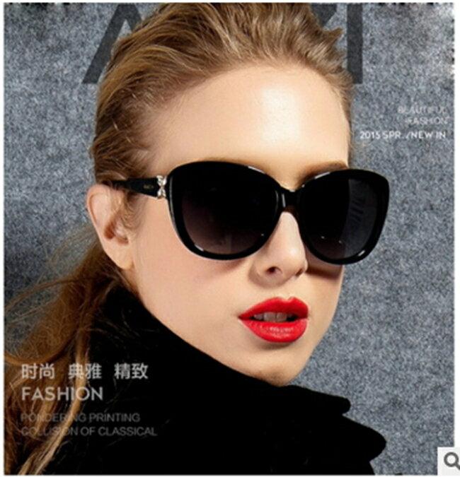 50%OFF【J011458Gls】新款時尚花朵款太陽鏡女潮9532 歐美復古太陽眼鏡墨鏡附眼鏡盒 - 限時優惠好康折扣