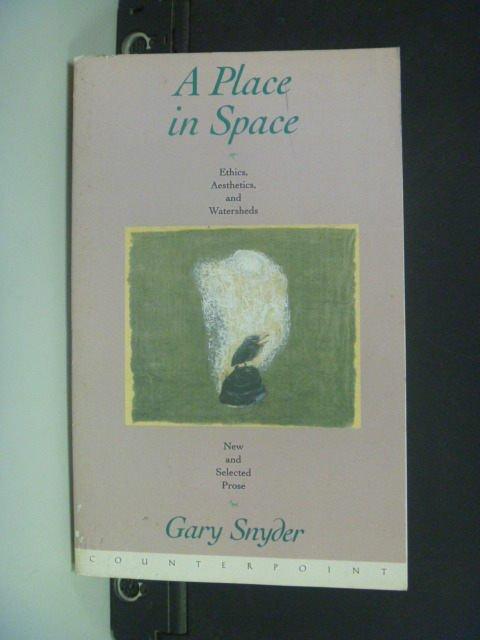 【書寶二手書T5/哲學_NID】A Place in Space: Ethics, Aesthetics