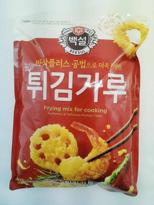 炸粉(1kg)韓國原裝進口 酥炸粉 鹽酥雞 炸雞 鹽味 油炸粉 炸蝦 炸雞 炸粉 韓式料理(依凡卡百貨)