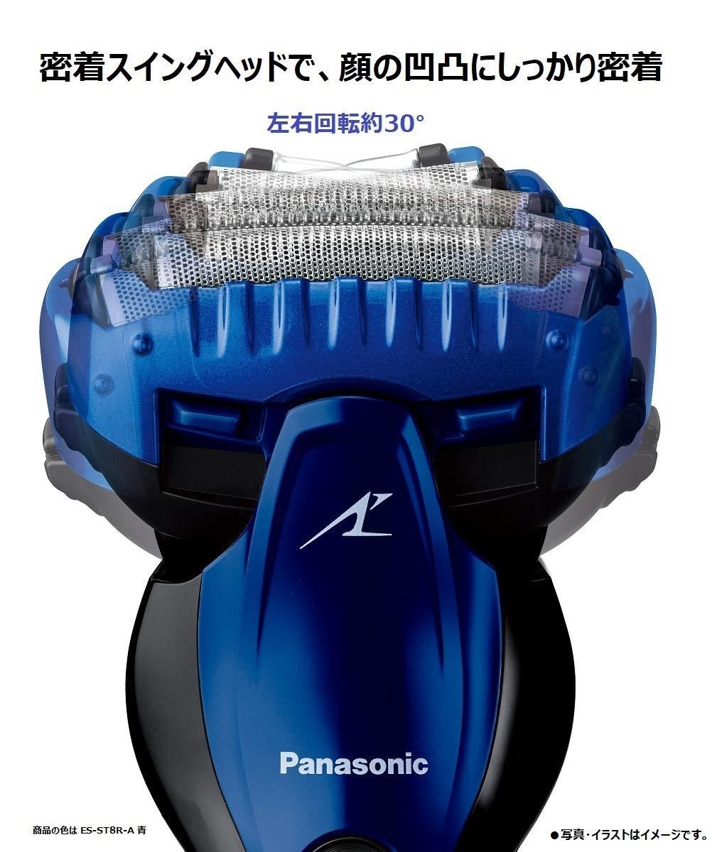 嘉頓國際 國際牌 PANASONIC【ES-ST8R】電動刮鬍刀 電鬍刀 鬍渣感測器 泡沫製造 電鬍刀 全機防水 5