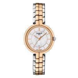 TISSOT天梭表 T0942102211100 FLAMINGO時尚女仕時尚腕錶/珍珠母貝面26mm